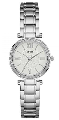 Guess Reloj analogico para Mujer de Cuarzo con Correa en Acero Inoxidable W0767L1