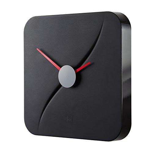 Orologio da parete design artetempus, modello kada, nero