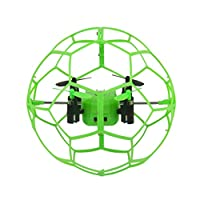 JIANGfu Toys Helic Max Sky Walker 1340 2.4GHz 4CH Fly Ball RC Quadcopter 3D Flip Roller