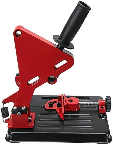 Delisouls Winkelschleifer Halterung, Universal Multi-Winkel Schleifmaschine Halterung Ständer, Variable Schneiden Rack Umwandlung Werkzeug Basis Maschine Halterung Halter Unterstützung