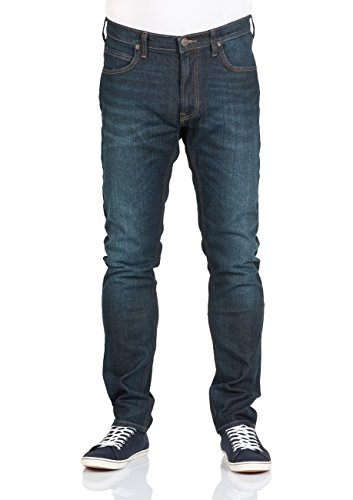 "Herren Jeans ""Luke"" Slim Tapered Fit Blue"
