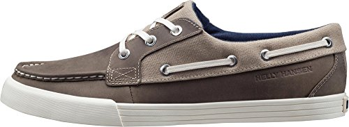 Helly Hansen Framnes 2, Zapatillas de Vela Para Hombre, Marrone (Laurel Oak/Dark Khaki), 43 EU