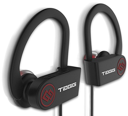 These wireless bluetooth headset headphones from TAGG comes with noise cancellation, full call control, IPX4 sweat proof resistance, complete mobile device compatibility.  It has durable design and comfortable earbuds that ensure that the earphones always stay in place while running, jogging and gyming.  It has built in rechargeable powerful lithium battery(100mAh) which provide upto 180 hrs of standby time, 8-9 hrs of talk time and 7 hrs of music play time.  Delivered by cutting edge technology, it is efficient and convenient. Now submerge yourself in the limitless world of sound with the latest in bluetooth innovation.