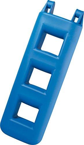 Fender Leiter Badeleiter (Blau, Stufen: 3 Länge: 750 mm)