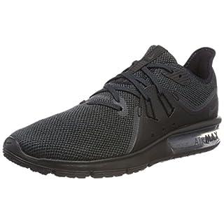 Nike Herren Air Max Sequent 3 Sneakers, Schwarz (Black/Anthracite 010), 42.5 EU