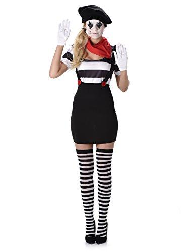 Karnival Costumes  - Pantomimen Kostüm für Damen Taille M