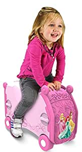 Vrum Disney Princess Childrens Ride-On Suitcase