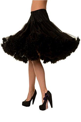 Banned Lifeforms Petticoat (Schwarz)