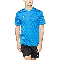 Nike–Maglietta a maniche corte da uomo energia III Jersey, Uomo, Short Sleeve Energy III, Royal Blue/White, L