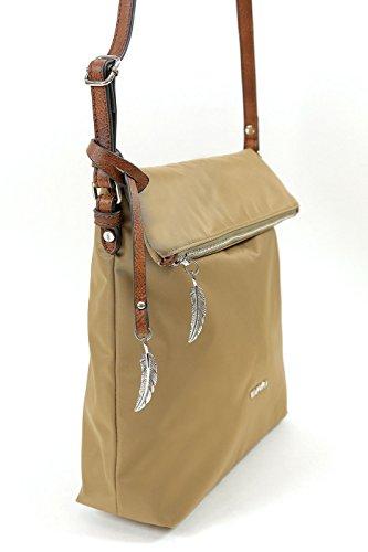 Waipuna , Borsa Messenger  Donna camel / camel