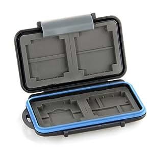 Box Safe Tasche Etui Aufbewahrungsbox Hülle für 4 CF 8 SD Karte