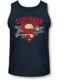 Superman - - La Chaîne Des Hommes rupture Débardeur