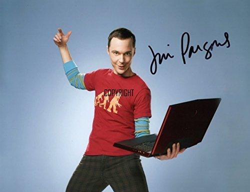 Limited Edition Jim Parsons The Big Bang Theory unterzeichnet Foto Autogramm signiertsigniertes