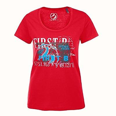 Damen T-Shirt NINON, red von FIRST B auf Outdoor Shop