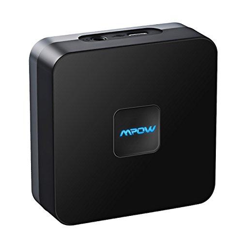 Ricevitore Bluetooth 4.1 A2DP con batteria incorporata, permette di aggiungere il Bluetooth a dispositivi che ne sono sprovvisti (auto, stereo etc)