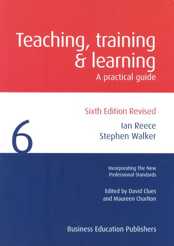 Teaching Training and Learning Cover Image