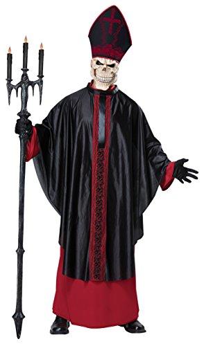 Papst Fancy Kostüm Der Dress - Unbekannt Aptafêtes-cs968941/S/M-Kostüm Papst bösen-Größe S/M