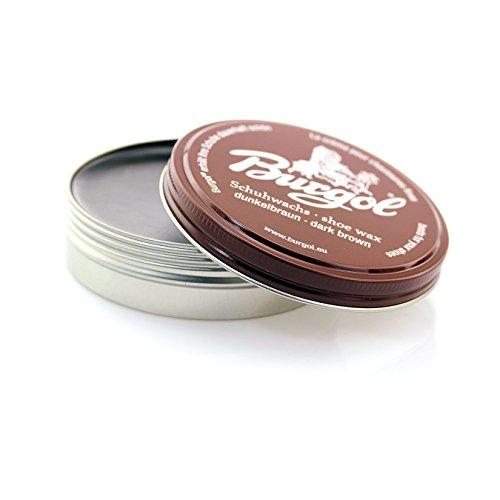 Burgol Burgol Palmenwachs Shoe Cream 100 ml, Dunkelbraun
