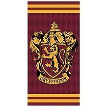 Setino Harry Potter 821-421, Toala modelo Gryffindor de algodon, 70x140 cm