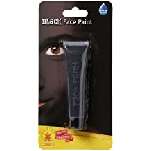 Rubie's - Maquillaje para cara, talla única, color negro (32602)