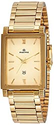 Maxima Analog Gold Dial Mens Watch-38192CMGY