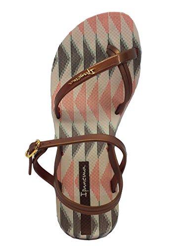 Infradito Ipanema Fashion Sand per donna in caucciù bronzo Beige/Bronze