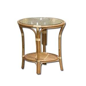 runder tisch mit glas garten f r outdoor rattan 50 cm k che haushalt. Black Bedroom Furniture Sets. Home Design Ideas