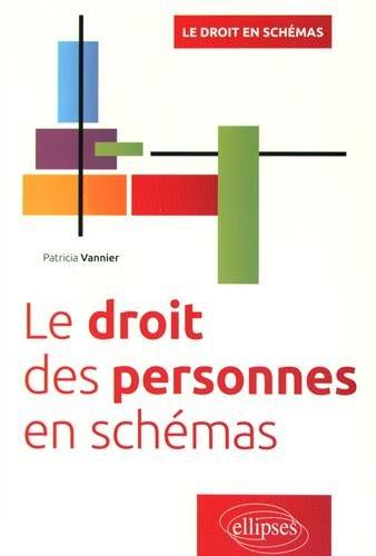Le Droit des Personnes en Schémas par Patricia Vannier