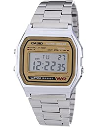 Casio Collection Herren-Armbanduhr Digital Edelstahl – A158WEA-9EF