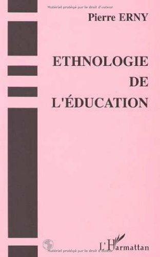 Ethnologie de l'éducation
