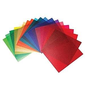 Elinchrom 21cm Filtre correction de couleur Gel Pack de 20 [ EL26256 ]