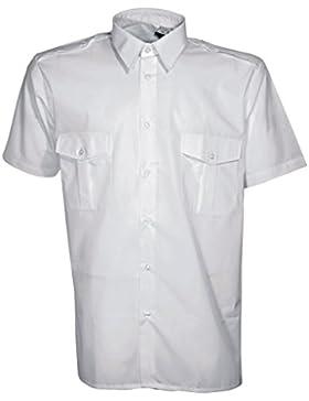 Camisa piloto blanca–CITYGUARD