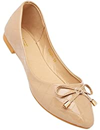 Life By Shoppers Stop Womens Casual Wear Slipon Ballerinas - B07DM2SPB9