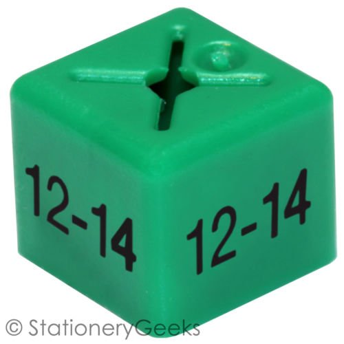 Stationery 50 cintres sa taille Cubes Womenswear double Taille 40-42/Vert-vêtements