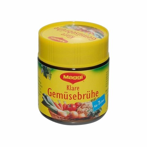 German Maggi Clear Stock for 7 liters - 1 x 250 ml