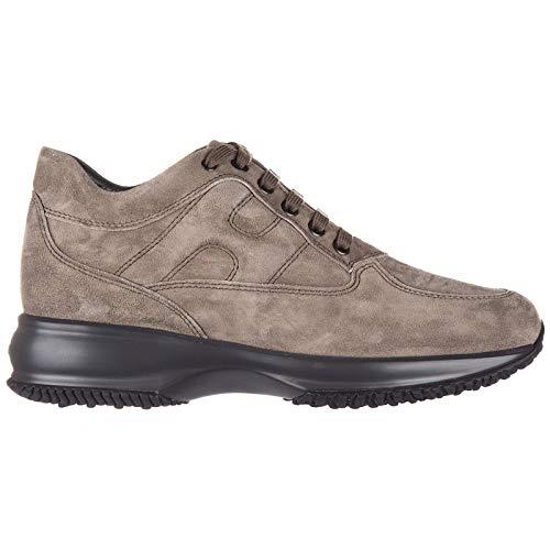 Hogan scarpe donna interactive modello hxw00n00010cr0c407 tortora medio n.35 80906a8aab0