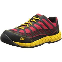 CAT Footwear Streamline CT S1P - Botas de sintético hombre, Rot (True Red), 42