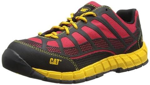 Cat Streamline Ct S1P True Red, Men Ankle Boots, Black (Black), 8 UK (42 EU)