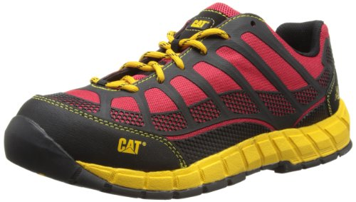 Cat Footwear - Streamline Ct S1P, Scarpe antinfortunistiche da uomo, Rosso (True Red), 40