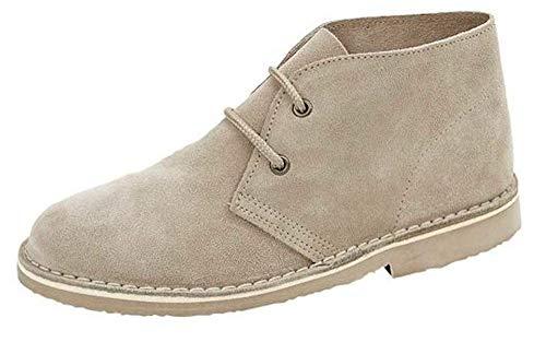 Roamer - Botas para mujer, color Beige, talla 38.5