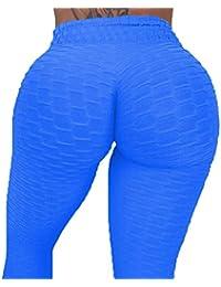 3fa397443 SEASUM Women's High Waisted Capris Yoga Pants Tummy Control Leggings Workout  Running Butt Lift Tights