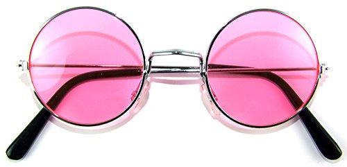 Das Kostümland Lennon Brille Nickelbrille - - Im Stil Der 80er Jahre Kostüm