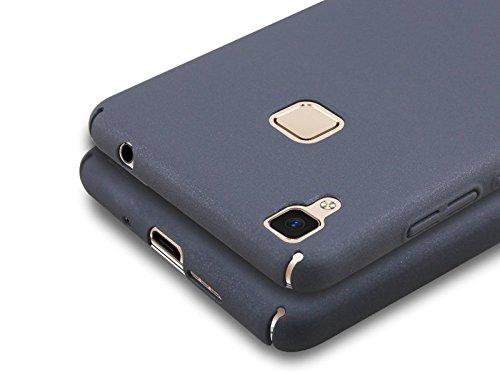 Prosper Premium Quality Back Cover For Vivo V3 max (Black) (Protect from all four sides)