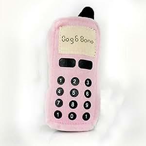Froomer Jouet Sonore à Mâcher en Forme de Téléphone Portable Rose pour Chien