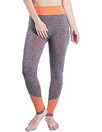 YWLINK Damen Fitnessstudio Yogahose Patchwork Sport Lauf Fitness Leggings  Hosen Sporthose 96ac9d0700