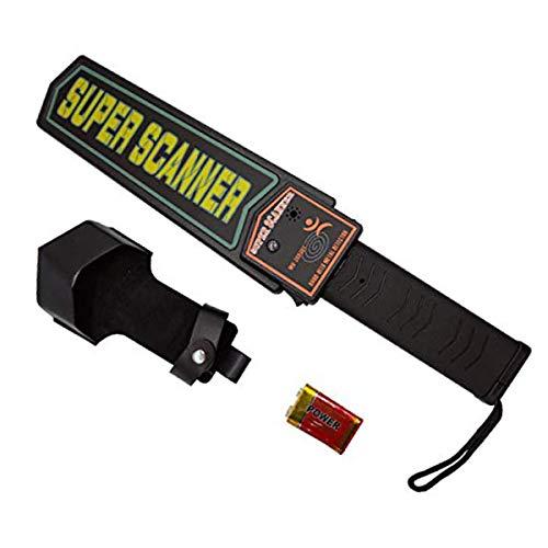 Pinpointer-Metalldetektor, wasserdichte YEESON-Metalldetektoren mit 360 ° -Scanner-Holster Treasure Hunting Tool Zubehör Summer Vibrationsautomatik (Security Scanner)