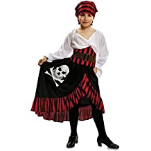 My Other Me - Disfraz para niña Pirata Bandana, 7-9 años (Viving Costumes 200585)