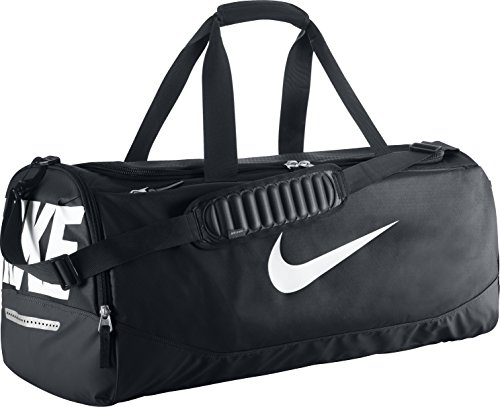 Sac de sport duffel grip drum nike team training max air sac de sport noir/blanc 50 x 25 x 5 cm, 5 l, bA 4892–001