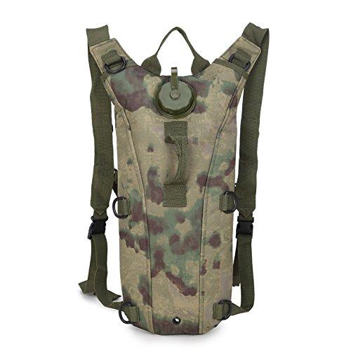 Wasserdichte Tasche Tasche -, Linien -, Rucksack, Rucksack Falten, Outdoor - Aktivitäten Camouflage E