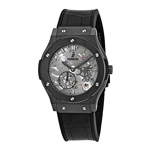 Hublot Classic Fusion orologio automatico da uomo con quadrante scheletrato 545.cm.0140.LR